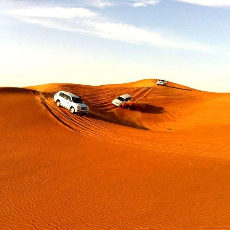 désert safari dubai