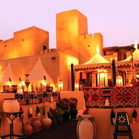 Diner Spectacle dans le désert