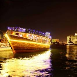 Dhow Cruise Diner Dubai Creek