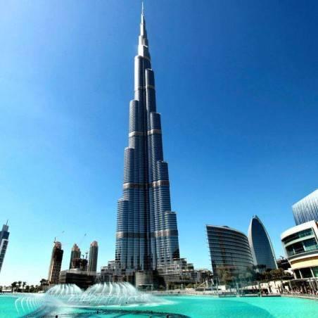 Visite Dubai Moderne+Burj Khalifa (groupe)