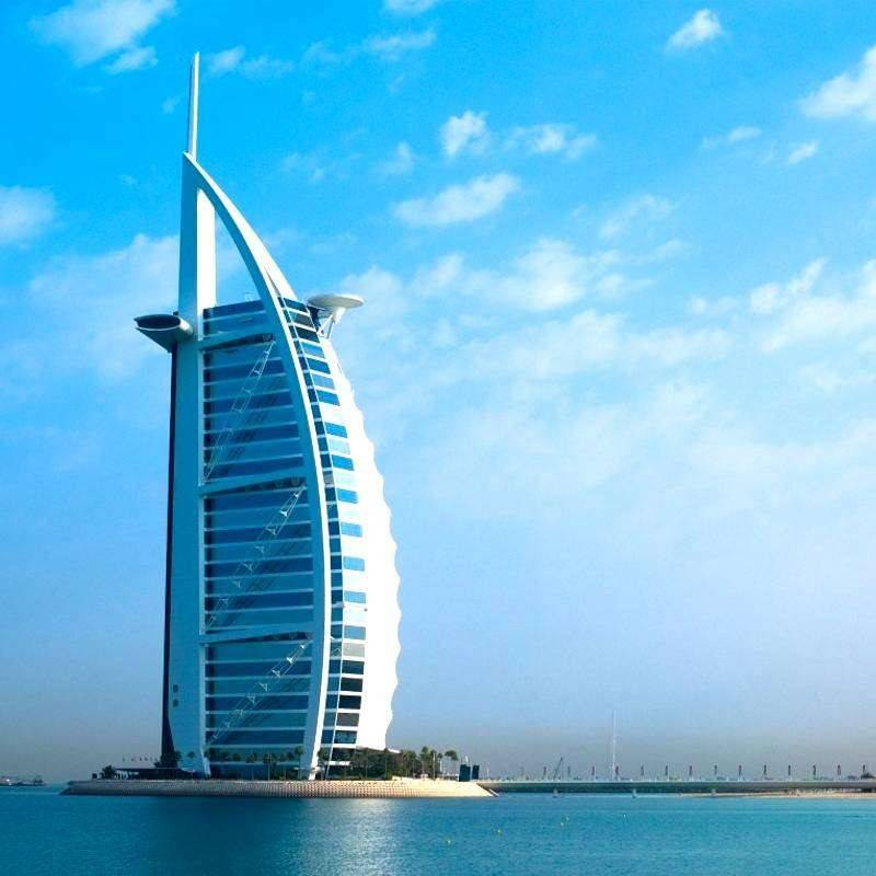 Dubai city tour a burj al arab lunch for Big hotel in dubai