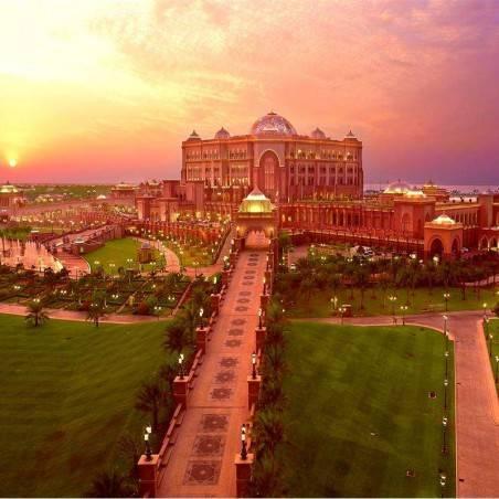 Visite guidée Abu Dhabi & Déjeuner Emirates Palace (groupe)