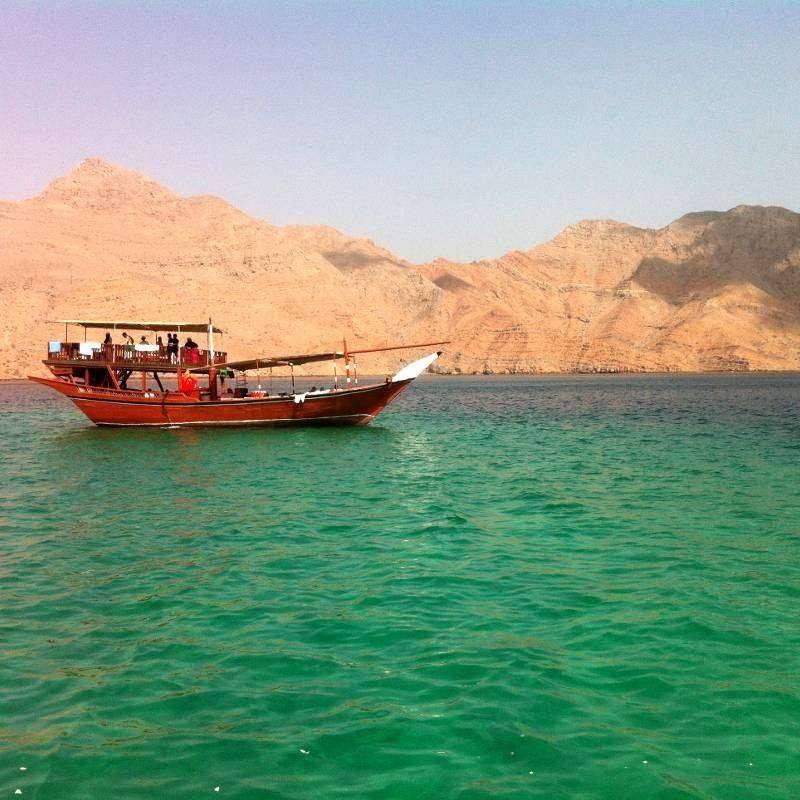 Mussandam Khasab Dhow Excursion
