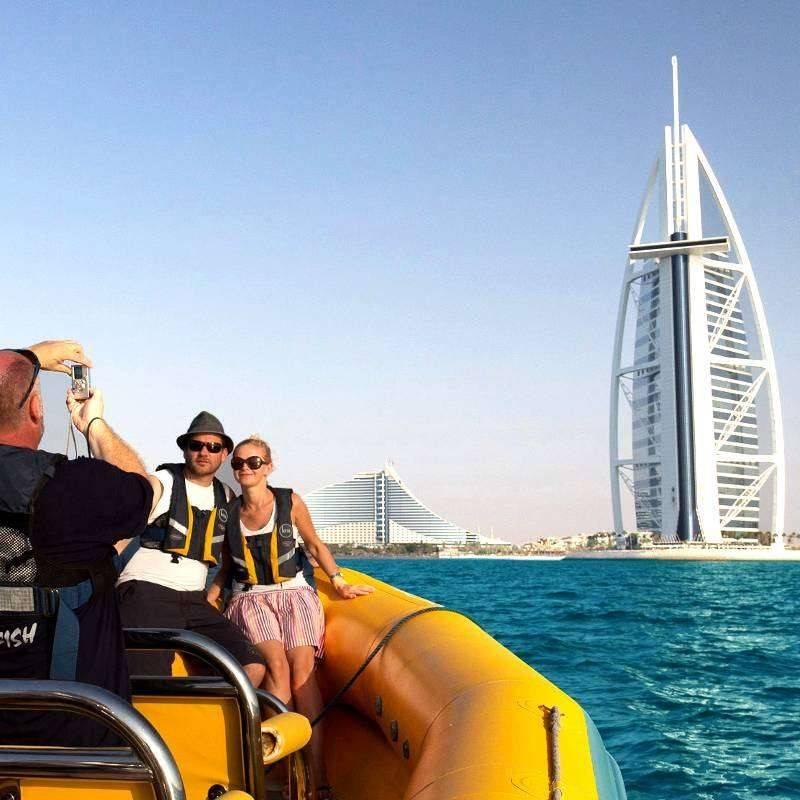 Tour en Speed Boat 90mins