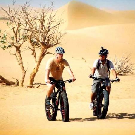 Excursion VTT dans le désert