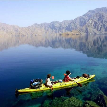 Excursion en Kayak Mussandam/Khasab (Oman)