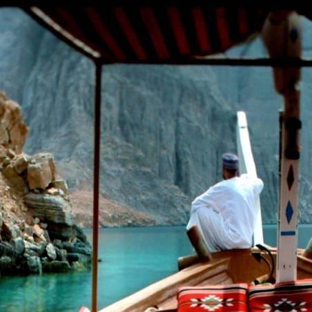 Excursion + Nuit Mussandam/Khasab (Oman)