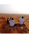 Camping dans le désert Dubai