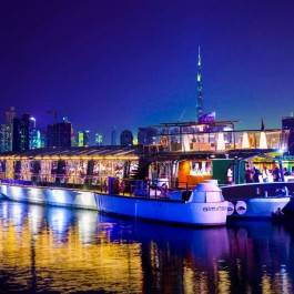 Dîner croisière Gastronomique Dubai Creek