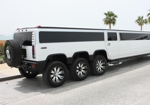 LIMOUSINE HUMMER XXXL DESTINATION DUBAI VIP