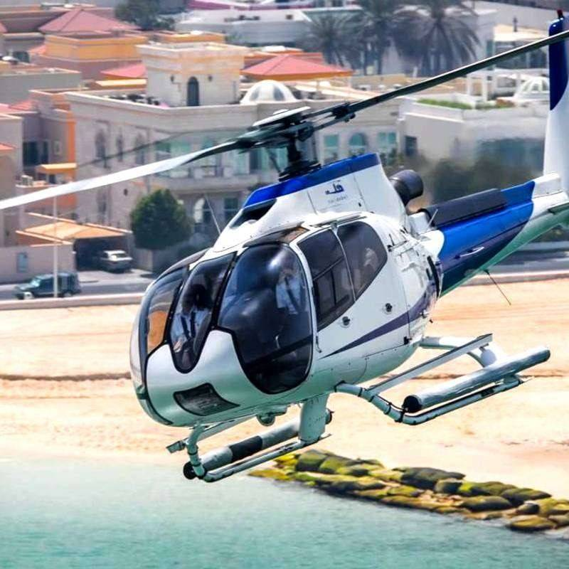 Vol privé en hélicoptère