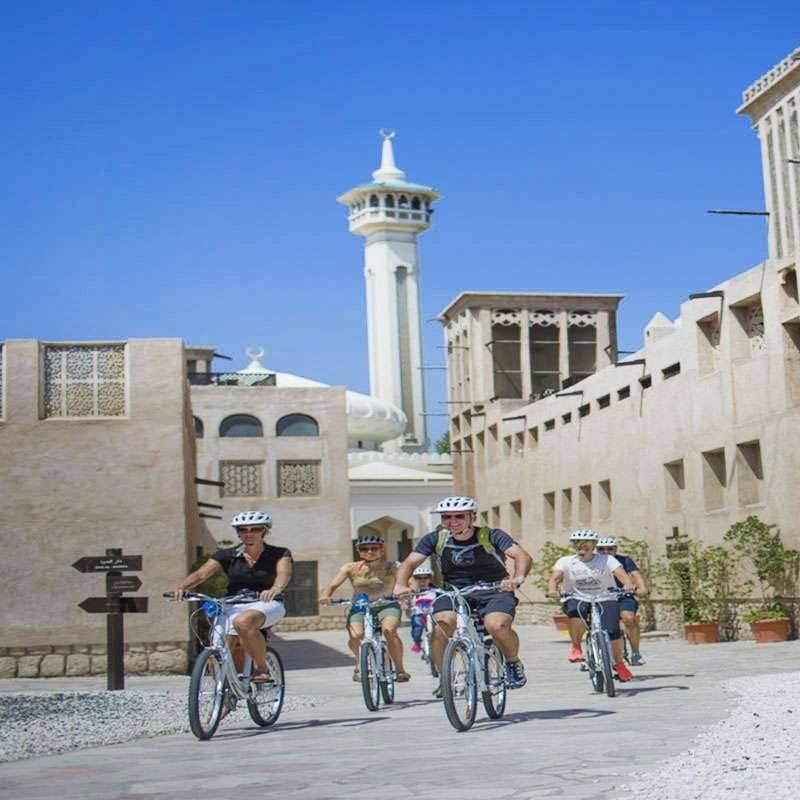 Visite Dubai en vélo
