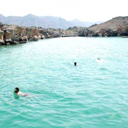 Excursion Mussandam Khasab + Nuit