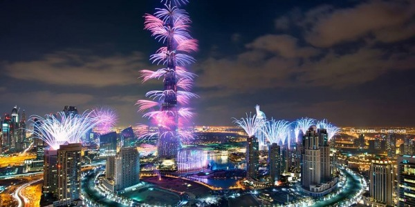 Spend New Year's Eve in Dubai